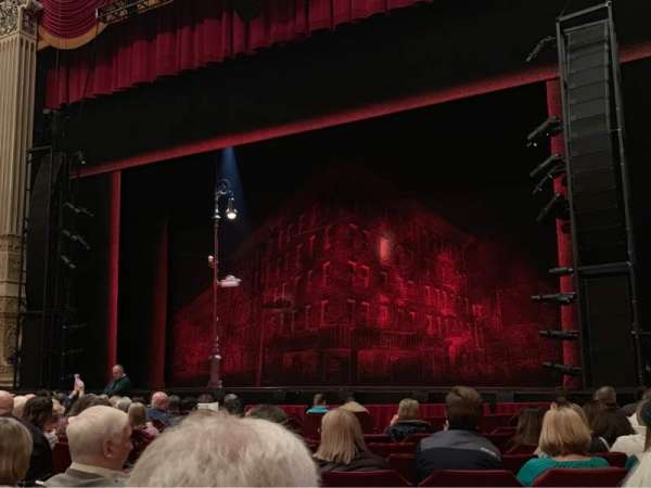Nederlander Theatre (Chicago), section: Orch-R, row: M, seat: 10