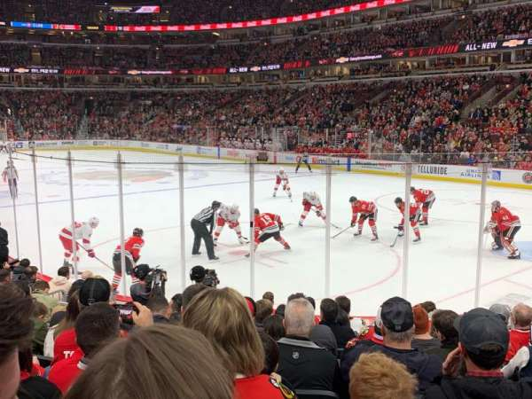 United Center, section: 108, row: 10, seat: 8