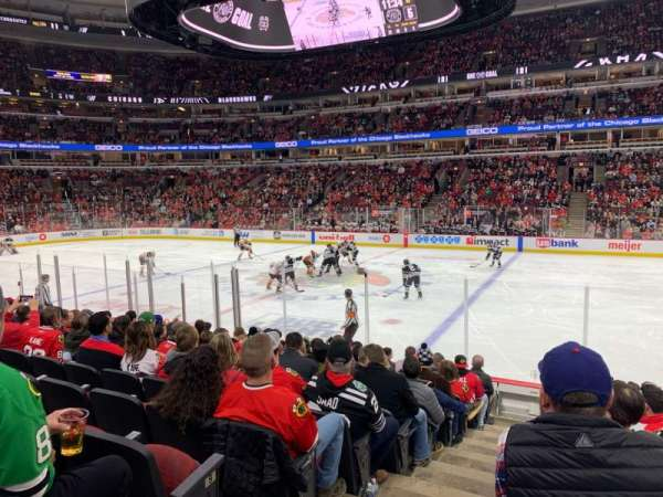 United Center, section: 110, row: 11, seat: 20