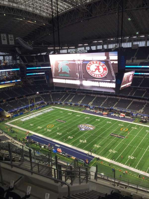 AT&T Stadium, section: 438, row: 17, seat: 15