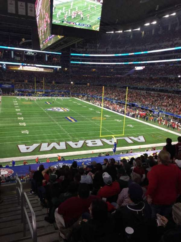 AT&T Stadium, section: 124, row: 6, seat: 1