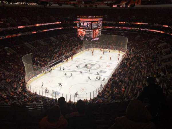 Wells Fargo Center, section: 209, row: 13, seat: 6