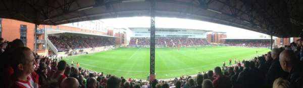 Brisbane Road, section: EBM - PAPST East Stand Upper, row: K, seat: 159