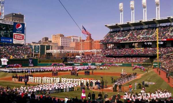 Progressive Field, section: 156, row: ff, seat: 3