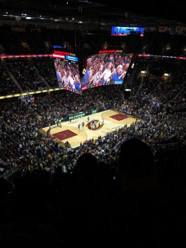 Quicken Loans Arena, section: 205, row: 13, seat: 18