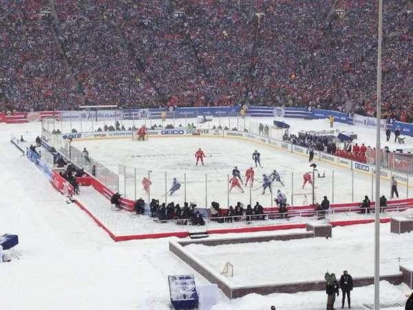 Michigan Stadium, section: 14, row: 56, seat: 10