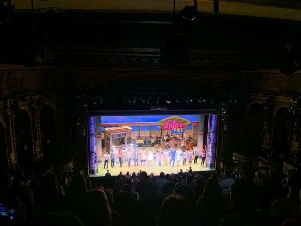 Brooks Atkinson Theatre, section: Mezz, row: L, seat: 121