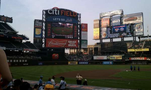 Citi Field, section: 121, row: 13, seat: 10