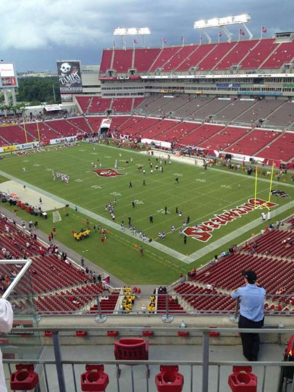 Raymond James Stadium, section: 344, row: C, seat: 8