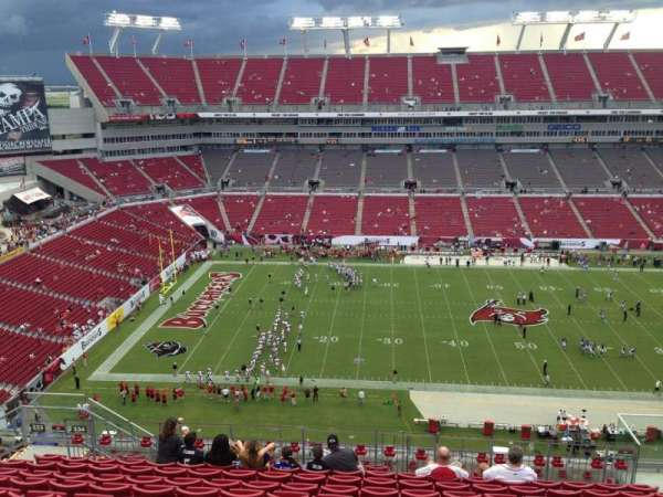 Raymond James Stadium, section: 334, row: L, seat: 12