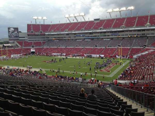 Raymond James Stadium, section: 241, row: CC, seat: 15