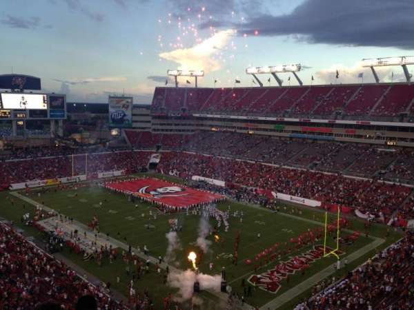 Raymond James Stadium, section: 318, row: E, seat: 24