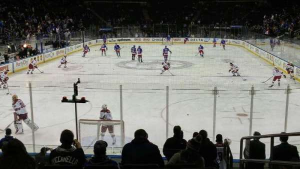Madison Square Garden, section: 112, row: 12, seat: 17
