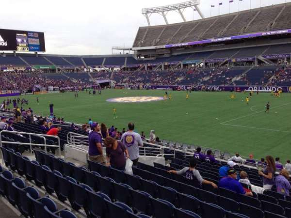 Camping World Stadium, section: 103, row: T, seat: 19