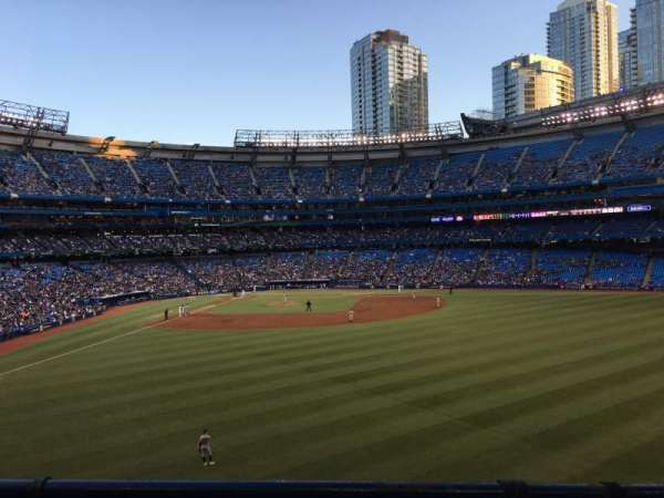 Rogers Centre, section: 205L, row: 1, seat: 108
