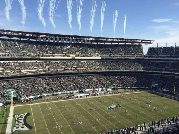 Lincoln Financial Field, section: 241, row: 2, seat: 11
