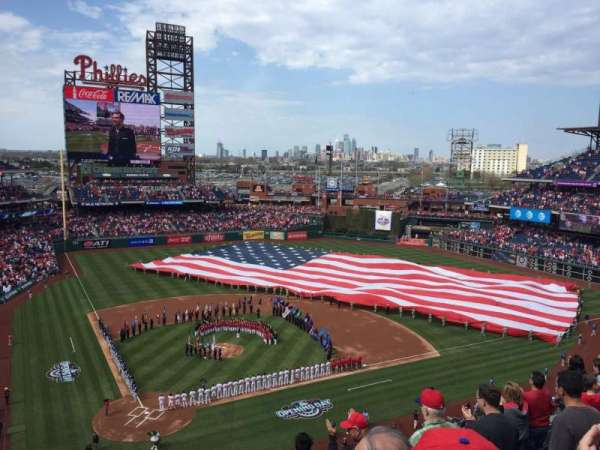 Citizens Bank Park, section: 318, row: 7, seat: 3