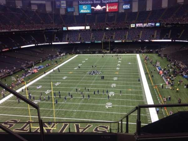 Mercedes-Benz Superdome, section: 651, row: 3, seat: 10
