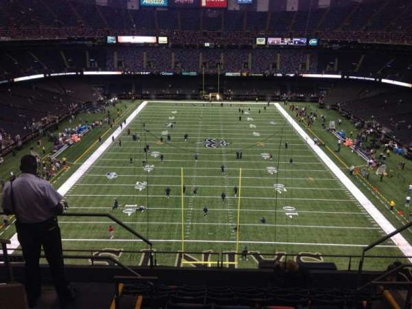 Mercedes-Benz Superdome, section: 601, row: 6, seat: 10