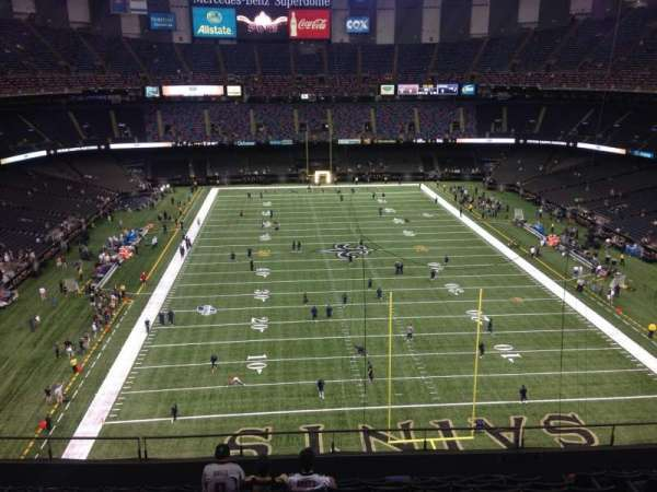 Mercedes-Benz Superdome, section: 602, row: 7, seat: 10