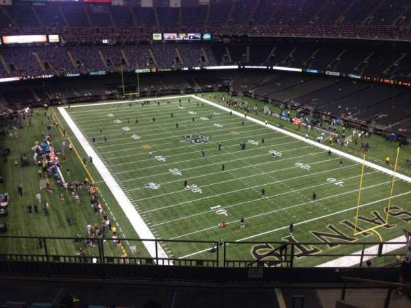 Mercedes-Benz Superdome, section: 605, row: 9, seat: 10