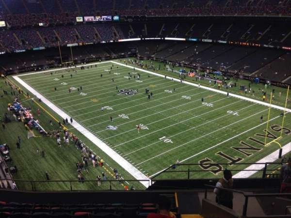 Mercedes-Benz Superdome, section: 606, row: 10, seat: 8