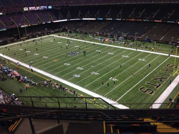Mercedes-Benz Superdome, section: 607, row: 12, seat: 19