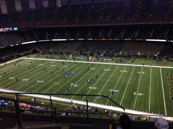 Mercedes-Benz Superdome, section: 610, row: 11, seat: 21