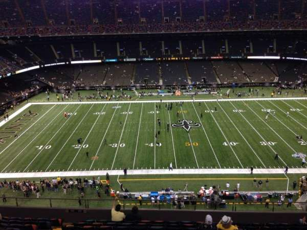 Mercedes-Benz Superdome, section: 615, row: 12, seat: 7