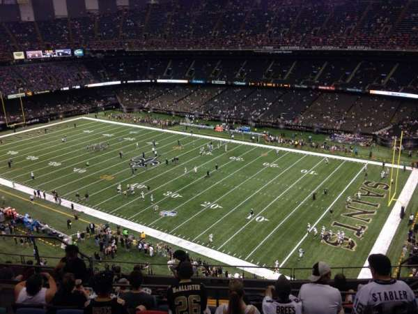 Mercedes-Benz Superdome, section: 634, row: 13, seat: 12