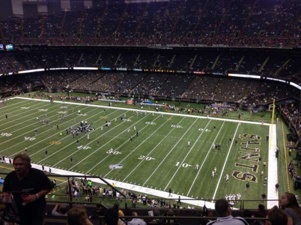 Caesars Superdome, section: 635, row: 12, seat: 15