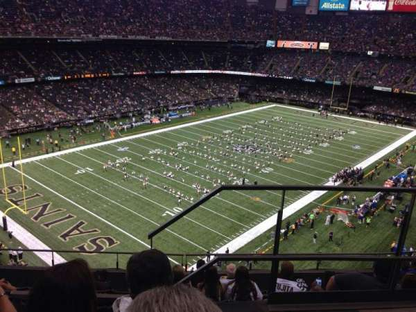 Caesars Superdome, section: 648, row: 9, seat: 1