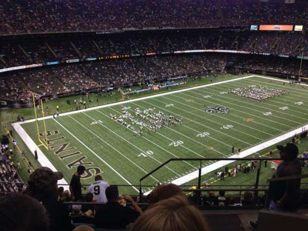 Mercedes-Benz Superdome, section: 647, row: 11, seat: 1