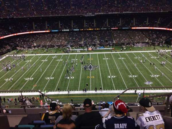 Mercedes-Benz Superdome, section: 640, row: 12, seat: 7