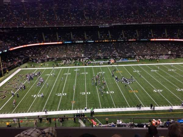 Caesars Superdome, section: 642, row: 7, seat: 4