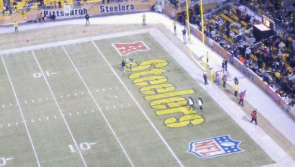Heinz Field, section: 536, row: T, seat: 2