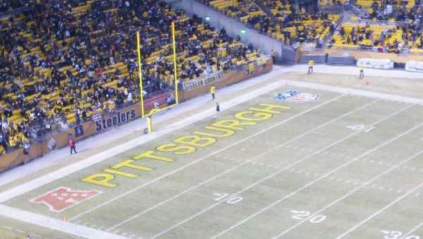 Heinz Field, section: 536, row: T, seat: 2
