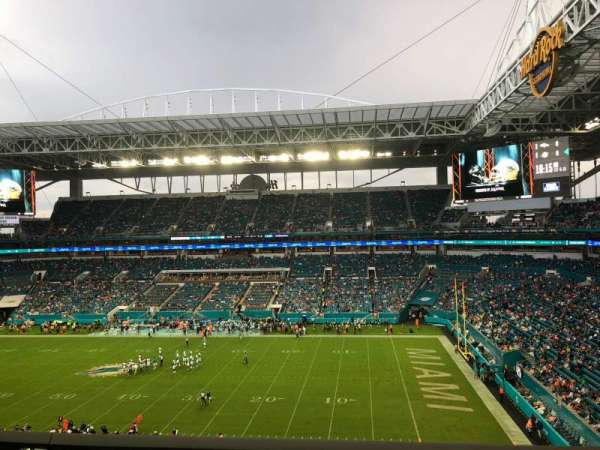 Hard Rock Stadium, section: 315, row: 1, seat: 11