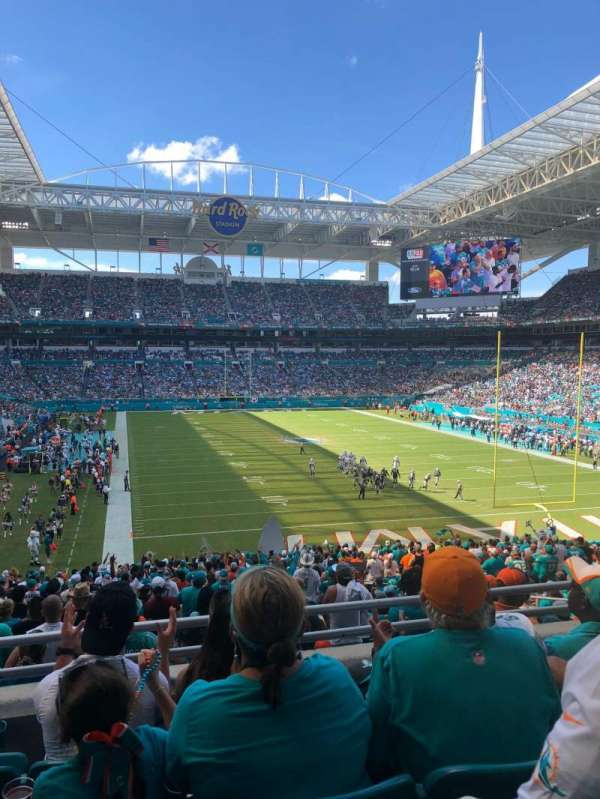 Hard Rock Stadium, section: 234, row: 4, seat: 14