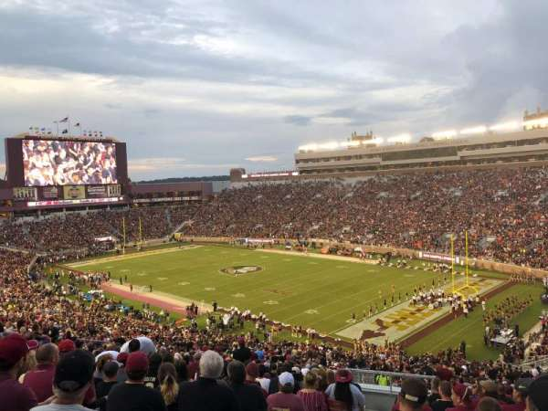Bobby Bowden Field at Doak Campbell Stadium, section: 27, row: 64, seat: 16