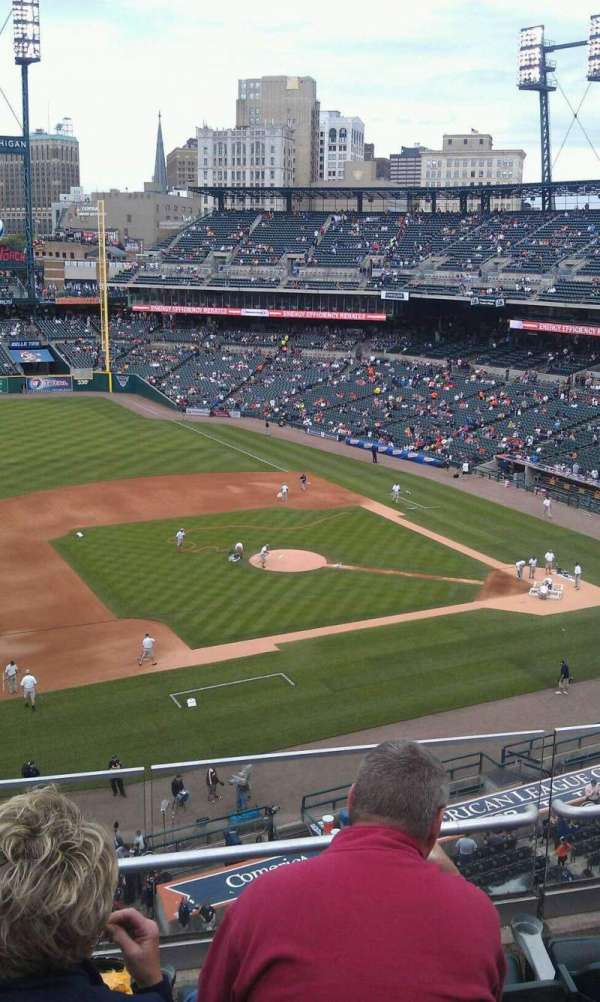 Comerica Park, section: 336, row: d, seat: 6