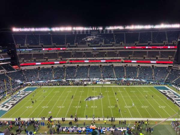 Lincoln Financial Field, section: 225, row: 10, seat: 17