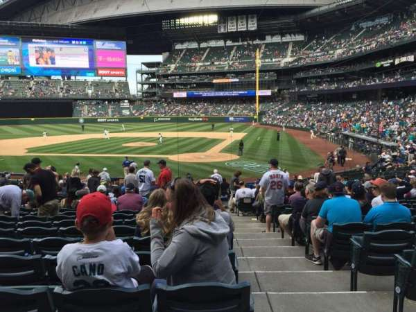 T-Mobile Park, section: 134, row: 26, seat: 1