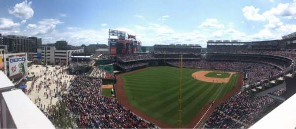 Nationals Park, section: 301, row: J, seat: 13