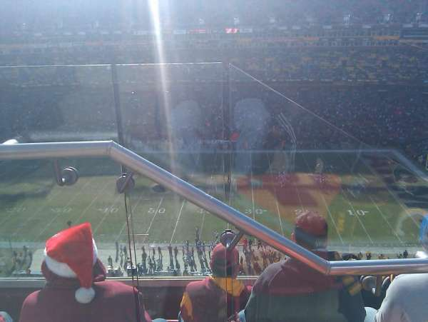 Fedex Field, section: 426, row: 5, seat: 20