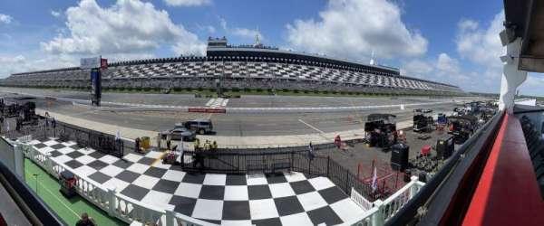 Pocono Raceway, section: L3N, row: A, seat: 12