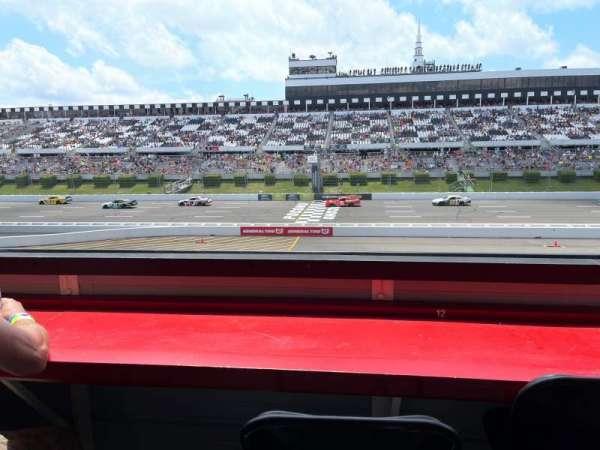 Pocono Raceway, section: L3N, row: B, seat: 12