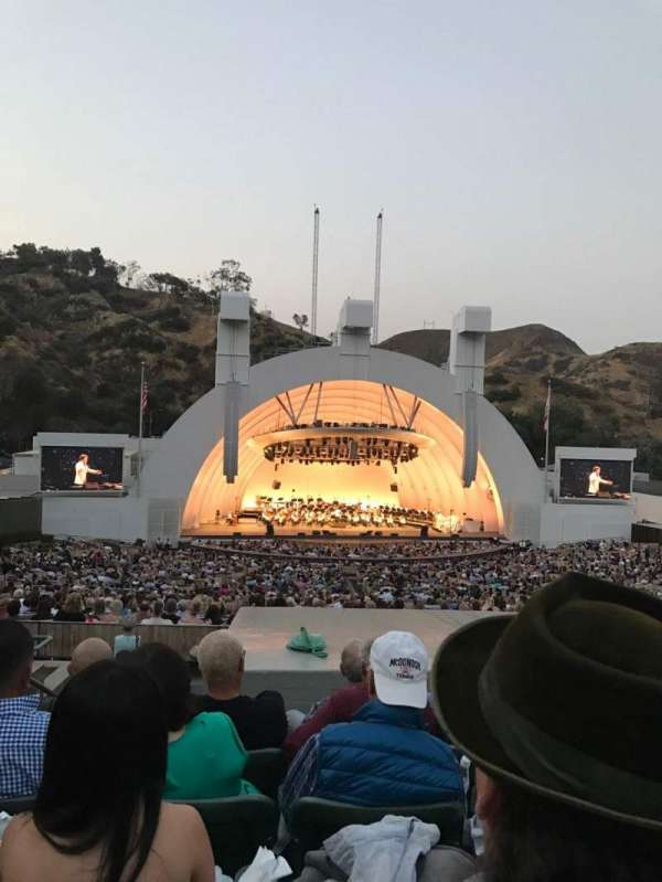 Hollywood Bowl, section: J1, row: 9, seat: 4