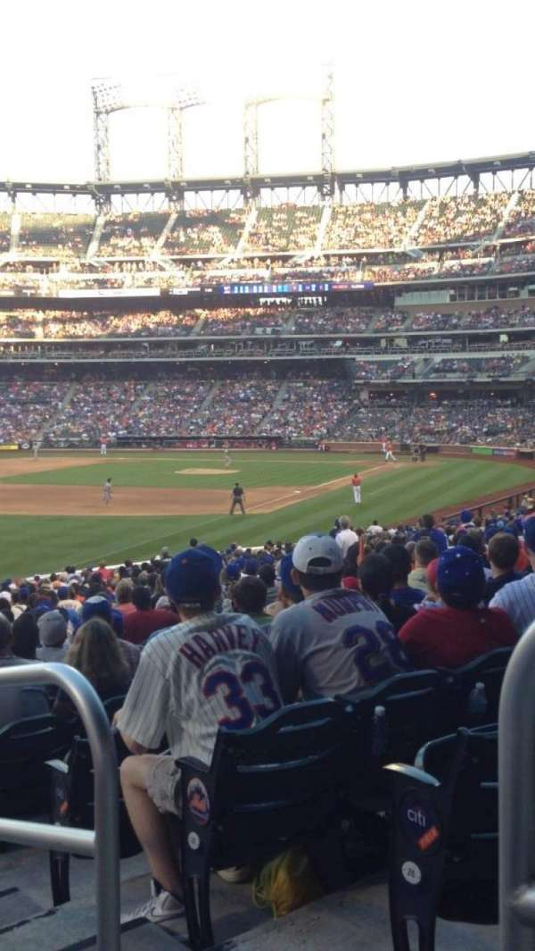 Citi Field, section: 129, row: 28, seat: 1
