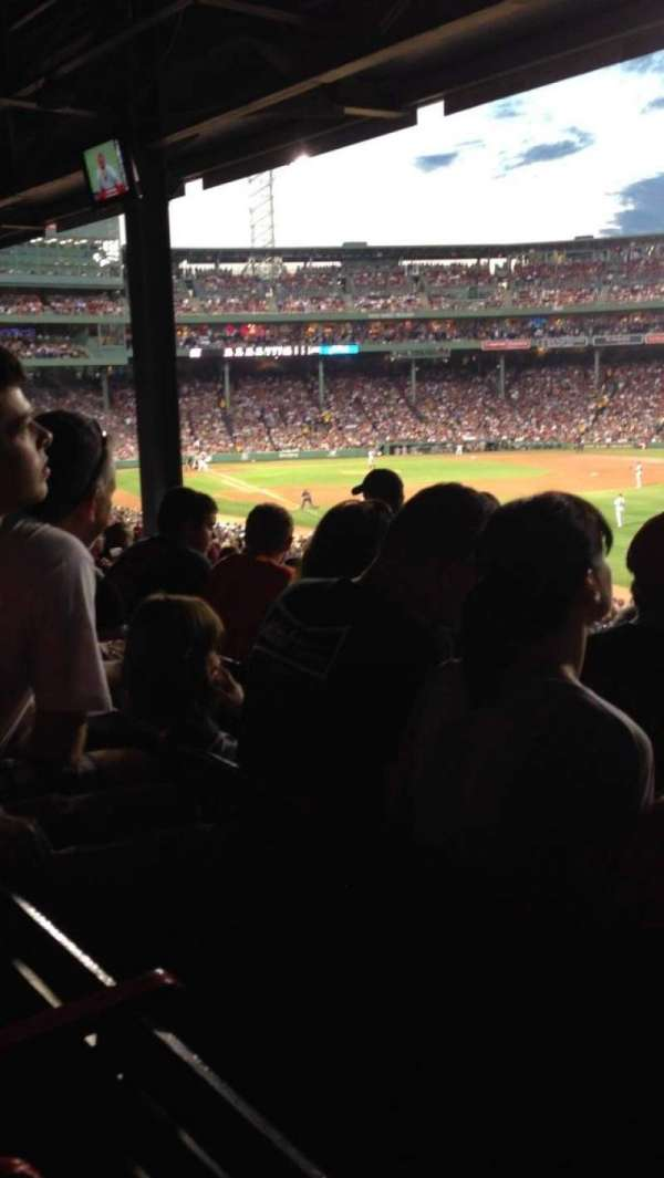 Fenway Park, section: Grandstand 6, row: 9, seat: 5